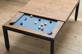 Pool Table In Dining Room by Vintage Png