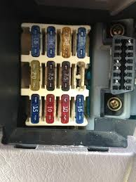 lexus rx300 starting problems lexus es300 ive change the large 4 prong fuse located on
