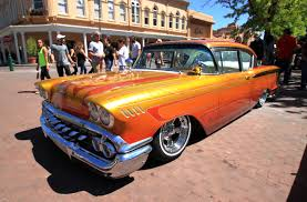 Lowrider car culture takes summer spotlight in New Mexico   Daily     This May          photo shows one of the dozens of lowriders on display at