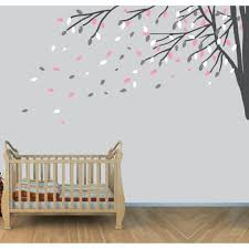 Tree Decal For Nursery Wall by Corner Branch Tree Wall Decal For Children