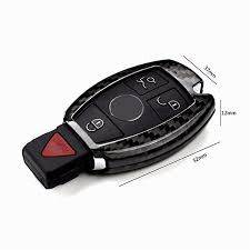 lexus key shell amazon carbon fiber remote keyless key cover case shell for c200 c300 c63