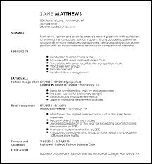Free Entry Level Fashion Assistant Buyer Resume Template   ResumeNow