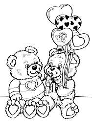 valentine coloring pages 2 coloring kids