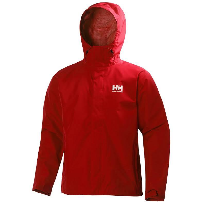 Helly Hansen Seven J Jacket Alert Red Large 362984