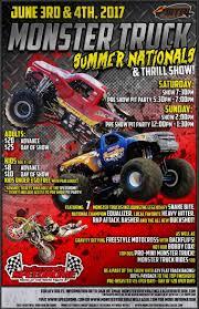 monster truck show schedule 2014 monster truck summer nationals u0026 thrill show day 2 in