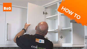 Replacing Kitchen Cabinets Doors How To Replace Kitchen Unit Doors Youtube