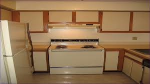 Kitchen Cabinet Refacing Veneer Uncategorized Best Way To Paint Laminate Kitchen Cabinets Can
