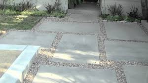 Backyard Cement Patio Ideas by Modern Patio Design Youtube