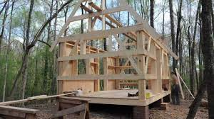 How To Build A Cottage House by Building Our Cabin Youtube