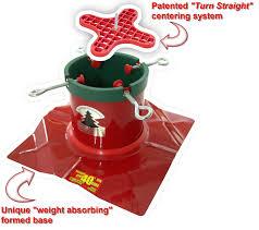 amazon com santa u0027s solution solid steel christmas tree stand for