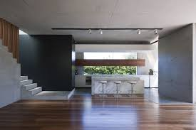Modern Concrete Home Plans And Designs Wood Floor In Kitchen For Luxury Concrete Home Plans With Basement