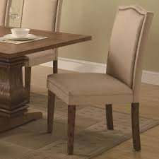 furniture traditional brown parsons chairs for your vintage