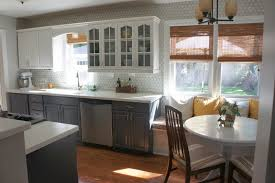 Enamel Kitchen Cabinets by Painting Kitchen Cabinets Makeover Painting Kitchen Cabinets