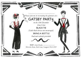 not crazy about the wording but nice graphics the great gatsby