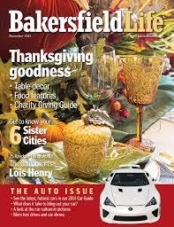 bakersfield life magazine november 2013 by tbc media specialty