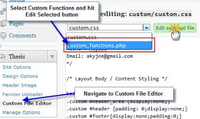 How to add alert bar to grab people attention in Thesis Theme Step   Add alert bar at top of Blog in Thesis Theme