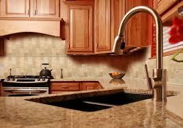 Cream Subway Tile Backsplash by Kitchen Design 20 Ideas Beveled Subway Tile Kitchen Backsplash