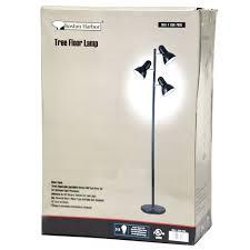 65 inch black 3 light tree lamp spotlight floor lamp