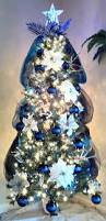 Christmas Tree Decorations Blue And Silver Blue Line Christmas Tree In Support Of The Men And Women In Law