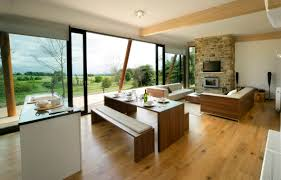 dining room and living room combined simple combined kitchen and
