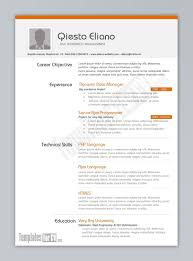replace the prepopulated content valuable design resume layout
