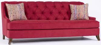 tufted sofa red tufted sofa