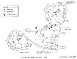 Roanoke Virginia Map by Roanoke Mountain Campground