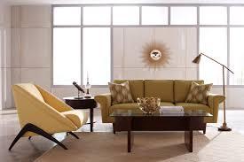 Feminine Living Room by Top Mid Century Modern Living Yellow Feminine Office Decor Tikspor