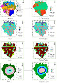 Thematic Maps Original And Reclassified Thematic Maps Figure 2 Of 4
