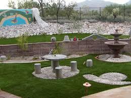 Backyard Landscaping Ideas With Rocks Backyard Design And Backyard - Backyard river design