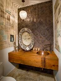 photos hgtv romantic bathroom with crystal pendant light loversiq