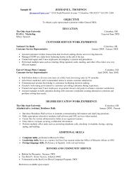 Resume Skills Summary  customers service resume  customer service