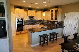 modren kitchen ideas wood cabinets l on inspiration