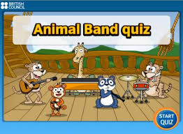 Games  Animal band quiz