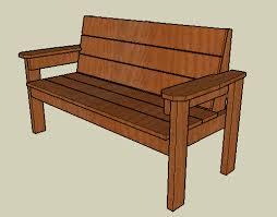 Build Wood Garden Bench by Woodwork Build Wood Park Bench Pdf Plans Benches Pinterest
