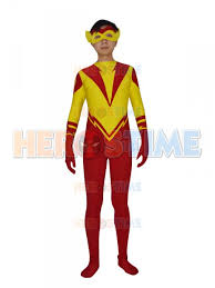 Flash Halloween Costumes Kid Flash Young Justice Dc Comics Superhero Costume