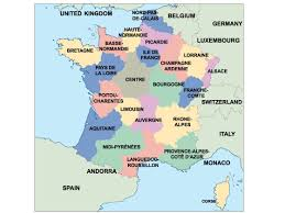 Map Of France And Spain by France Powerpoint Map Order And Download France Powerpoint Map