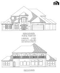 House Plans 2 Story by 4068 0211 5 Bedroom 2 Story House Plan