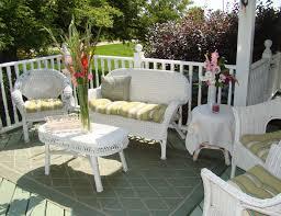White Resin Wicker Outdoor Patio Furniture Set - white patio furniture set home design ideas and pictures
