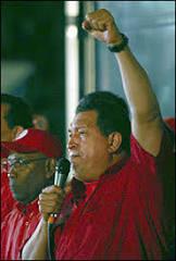 Onda iniciada na América do Sul chegou aos EUA, diz Chávez