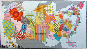 United States Map by Lordy Rodriguez