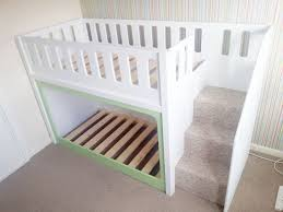 Diy Bunk Bed With Slide by Best 25 Diy Toddler Bed Ideas On Pinterest Toddler Bed Toddler