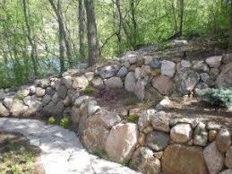 Best  Boulder Retaining Wall Ideas On Pinterest Rock Wall - Landscape wall design