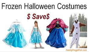 Frozen Halloween Costumes Adults Frozen Halloween Costumes Family Finds Fun
