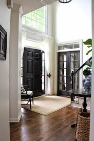 Front Entry Way by Black Internal Doors Curtain Door Door Curtains And Black Door