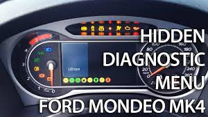 how to enter hidden service menu in ford focus mk2 secret