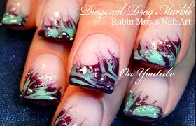 nail art unbelievable water marble nail art photos ideas videos