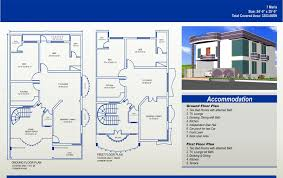 7 marla house plan civil engineers pk