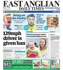 E edition Read the EADT online edition East Anglian Daily Times