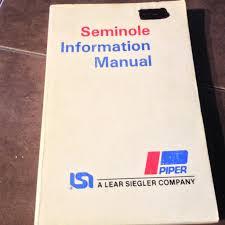 100 piper seminole airplane maintenance manual piper seneca